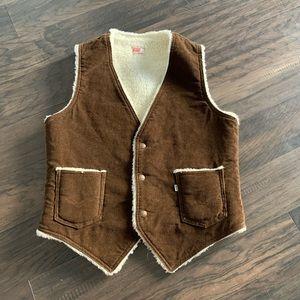 Levi's corduroy vest size medium